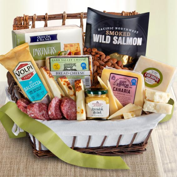 Gourmet Meat & Cheese Gift Basket - CFG5035_20N