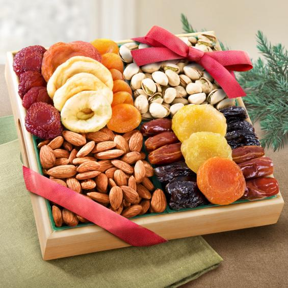 Pacific Coast Classic Dried Fruit Tray Gift - CFG8000