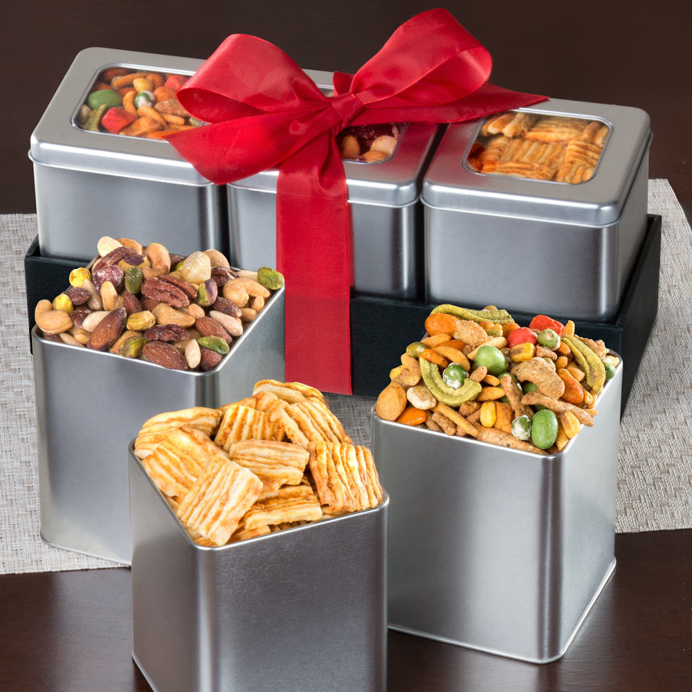 Savory Snacking Grand Tin Trio Set - CFH1020_19