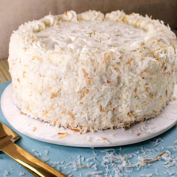 "Dreamy Coconut Cloud 10"" Layer Cake - CFD2294"