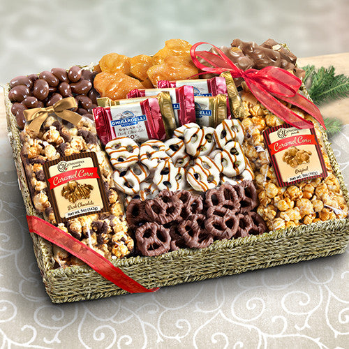 Chocolate, Caramel and Crunch Grand Gift Basket - CAA4056_20A