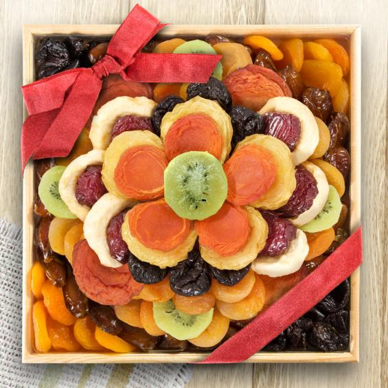 Sweet Bloom Dried Fruit Grand Deluxe Basket - CFG6053_20A