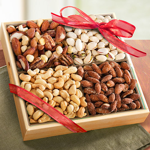 Savory Favorites Assorted Nuts Tray - CFG8012