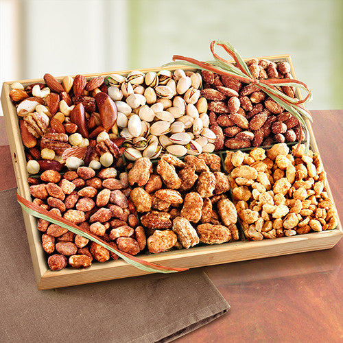 Savory and Toffee Deluxe Nut Tray - CFG8014