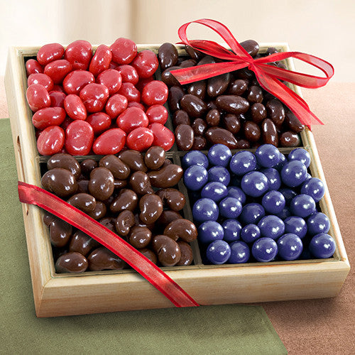 Chocolate Covered Bliss Fruit and Nuts Tray - CFG8015_20A