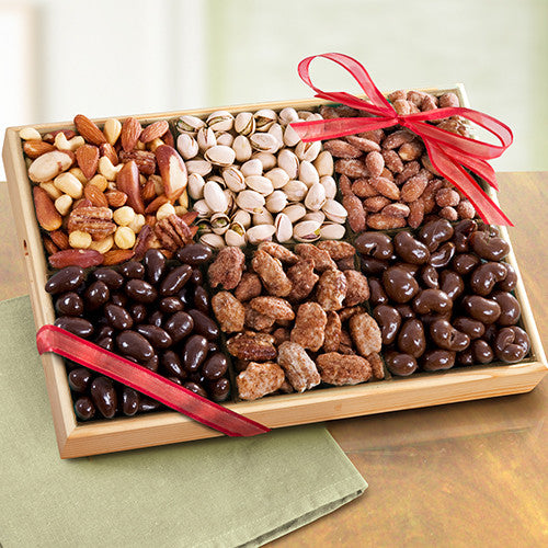 Savory and Sweet Deluxe Nut Tray - CFG8022