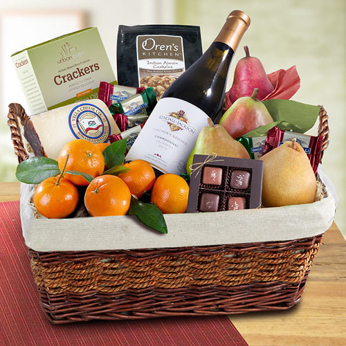Dry Creek Cabernet Sauvignon Wine Country Gourmet Basket - WA4015