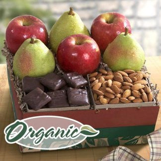 Sweet and Crunchy - Organic Fruit & Chocolates Gift