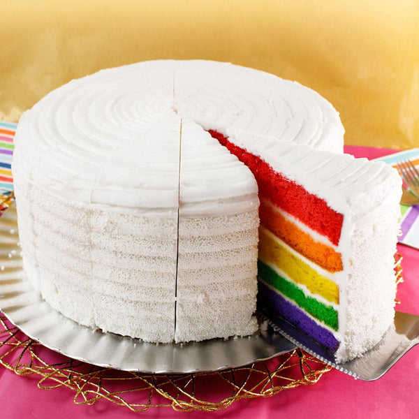 "10"" Rainbow Layer Cake - CFD08699-04"