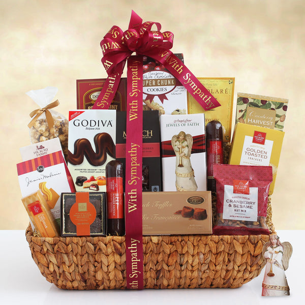 Prayers & Sympathy Gift Basket - CFG5332