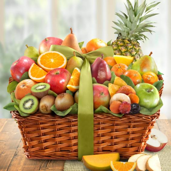 Tropical Fruit Medley Basket - CFG4061_19