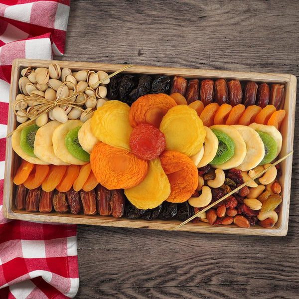 Mix of California dried fruit and nuts - CFV80018_20