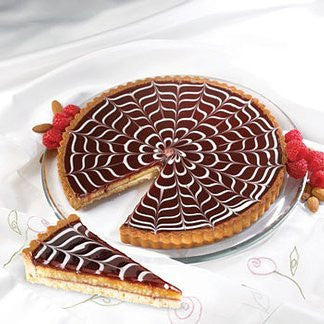 Raspberry Almond Tart 9.5""