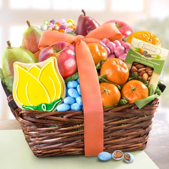 Fruit and Treats Spring Basket - CFG4073