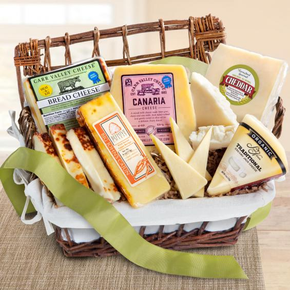 Basket full of Gourmet Cheese - CFG5030_20N