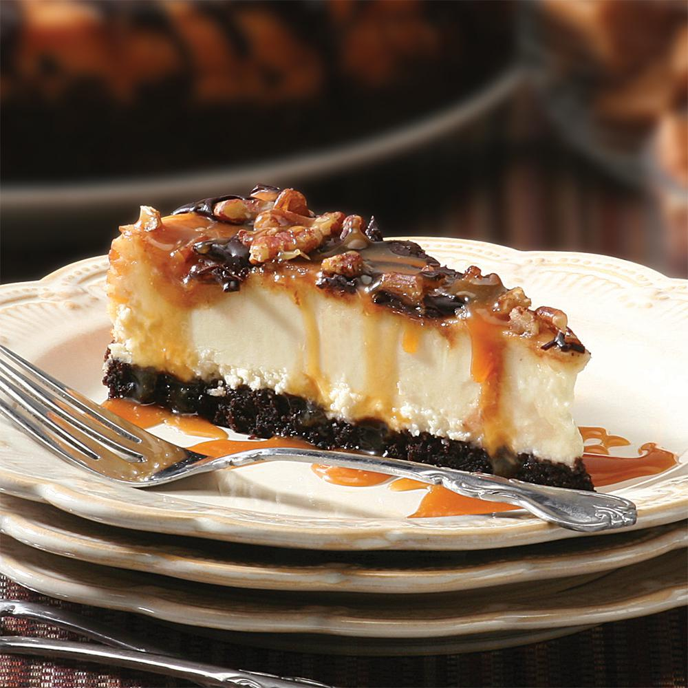 "10"" Chocolate Caramel Pecan Cheesecake - CFCD00310"