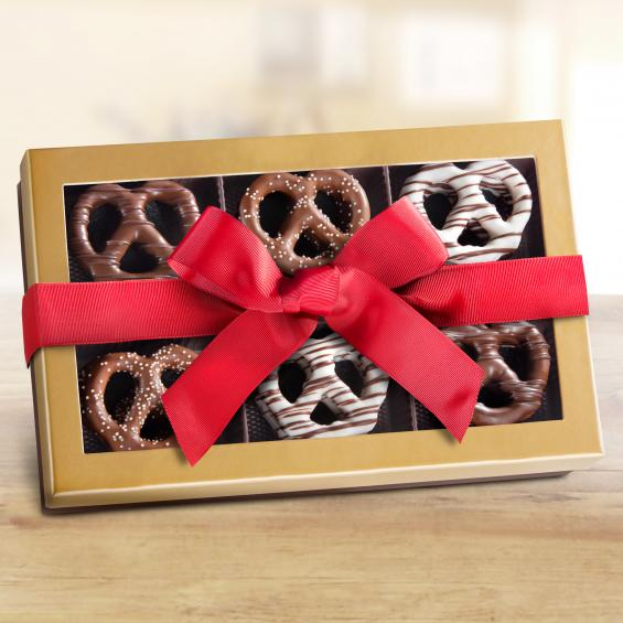 Chocolate Dipped Pretzels - CFG1023R_20N