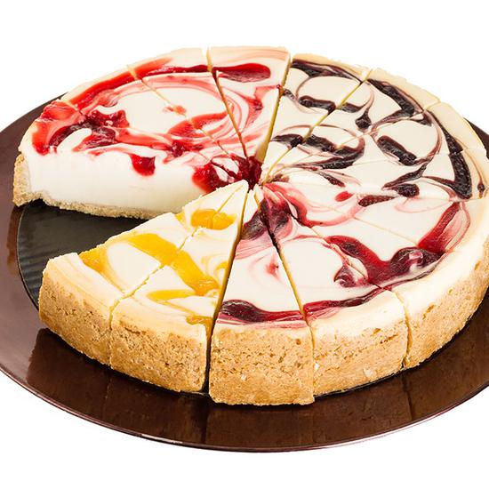 Sampler of Fruit Cheesecake - CFD632_20