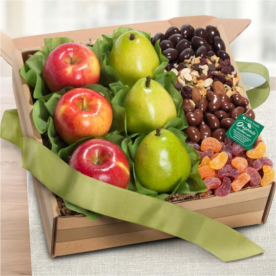 Organic Sierra Fruit and Treats Gift Box - OFG1009