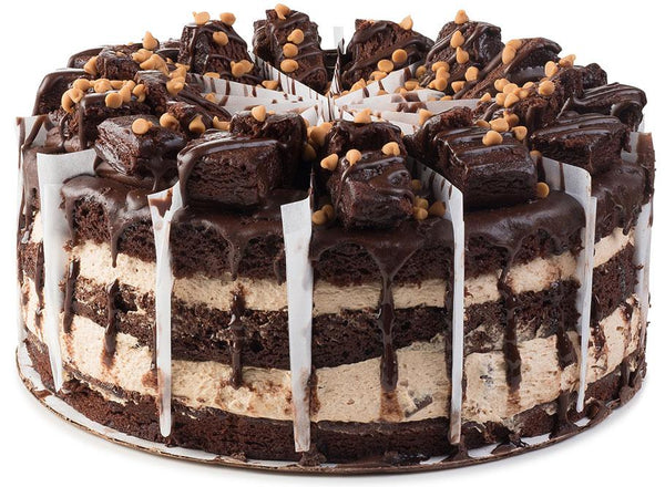 Giant Peanut Butter Chocolate Cake - CFD08699