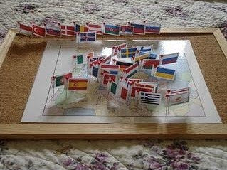 Montessori Pin Maps