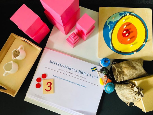Montessori 3-6 Years Curriculum: Scope and Sequence of Montessori Materials and Activities