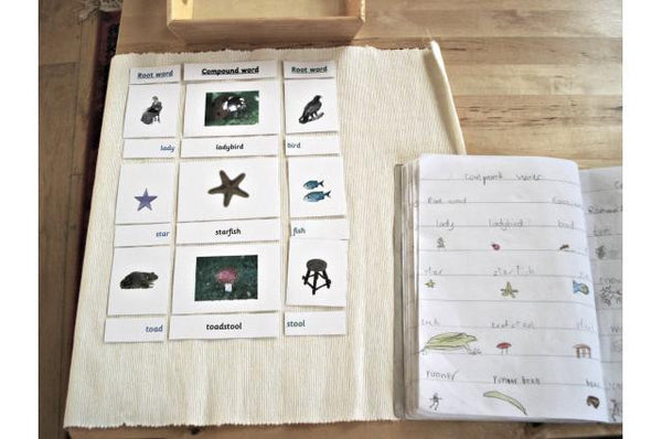 Montessori Compound Words Card Set
