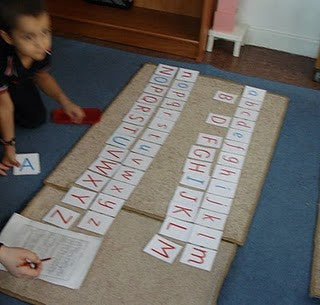 Capital Letters and Lower Case Matching Cards
