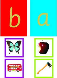 Phonetic Alphabet Matching Picture Cards