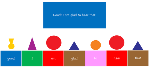 Montessori Grammar Box 8: Study of Interjection