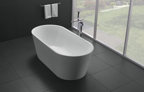 ADELE WHITE FREE-STANDING BATHTUB 1700W - Bathroom Clearance