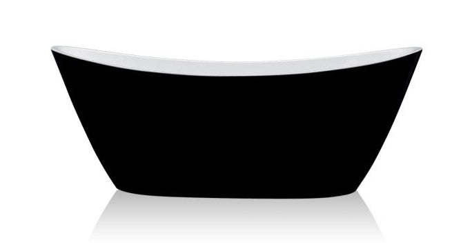 ADESSO BLACK FREE-STANDING BATHTUB 1500W - Bathroom Clearance