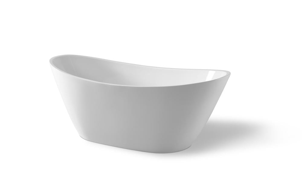 ADESSO WHITE FREE-STANDING BATHTUB 1700W - Bathroom Clearance