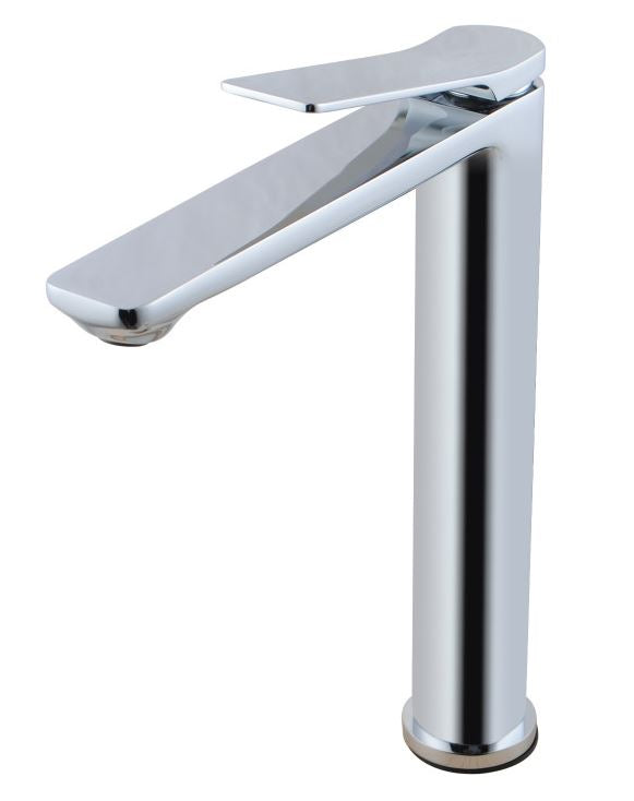 MIA TALL BASIN MIXER - CHROME - Bathroom Clearance