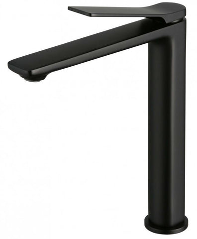 MIA TALL BASIN MIXER - MATTE BLACK - Bathroom Clearance