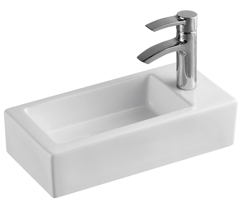 SLIM HAND BASIN RIGHT HAND - Bathroom Clearance