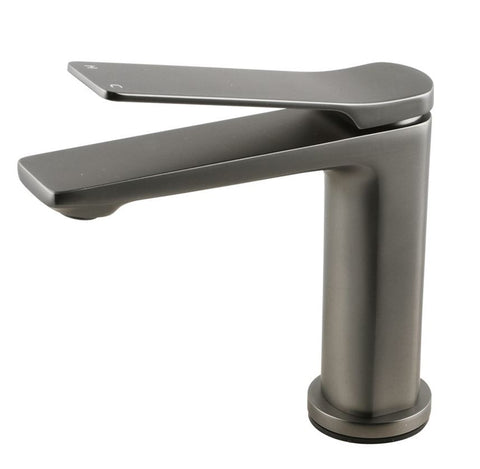 MIA BASIN MIXER - GUNMETAL - Bathroom Clearance