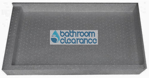 1200X900 RIGHT HAND WALL TILE TRAY - Bathroom Clearance