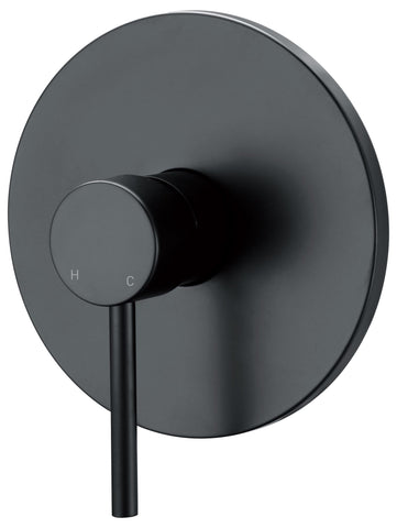 CECINA SHOWER MIXER - MATTE BLACK - Bathroom Clearance