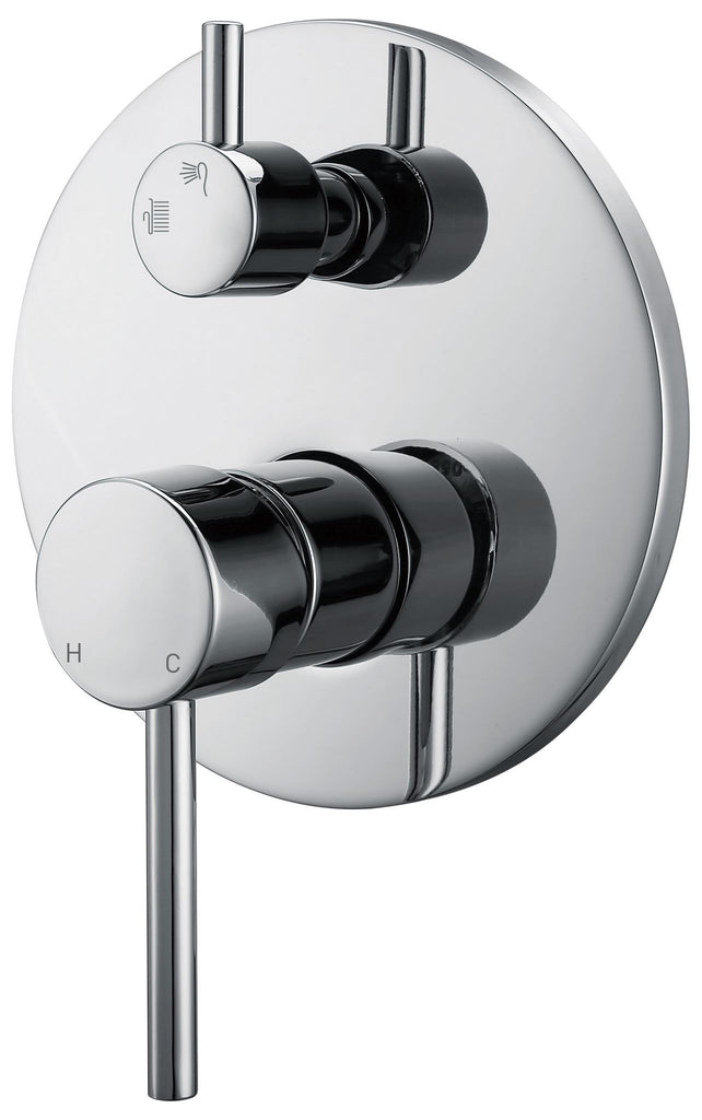 CECINA DIVERTER SHOWER MIXER - CHROME - Bathroom Clearance