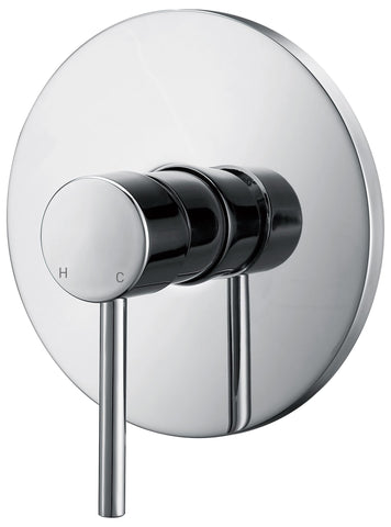 CECINA CHROME SHOWER MIXER - bathroom-clearance-limited