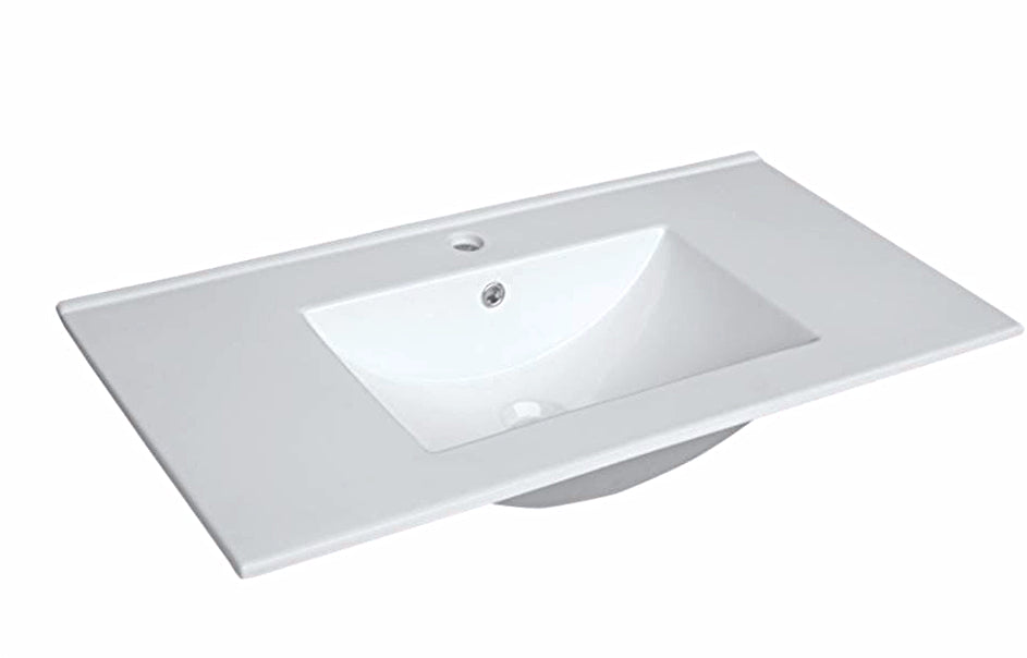 750mm x 360mm SLIM CERAMIC TOP - Bathroom Clearance