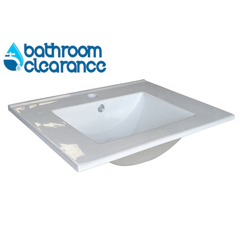 600MM CERAMIC WAVE TOP - Bathroom Clearance