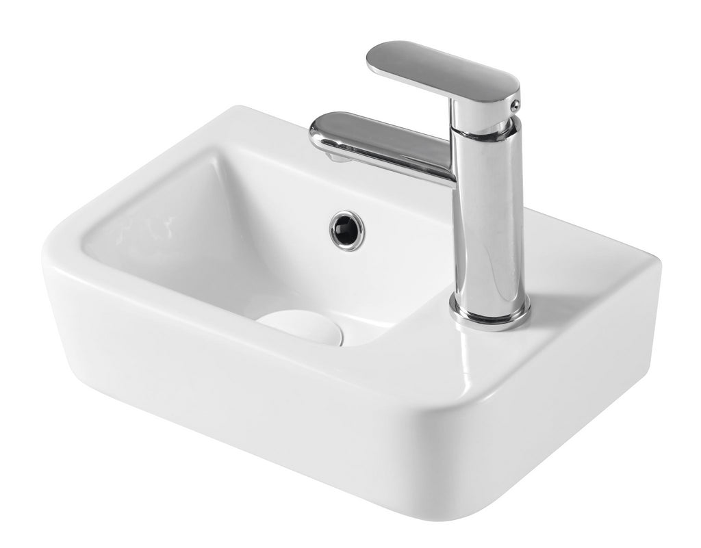 LEGEND  RIGHT HAND SMALL BASIN 375X245 - Bathroom Clearance