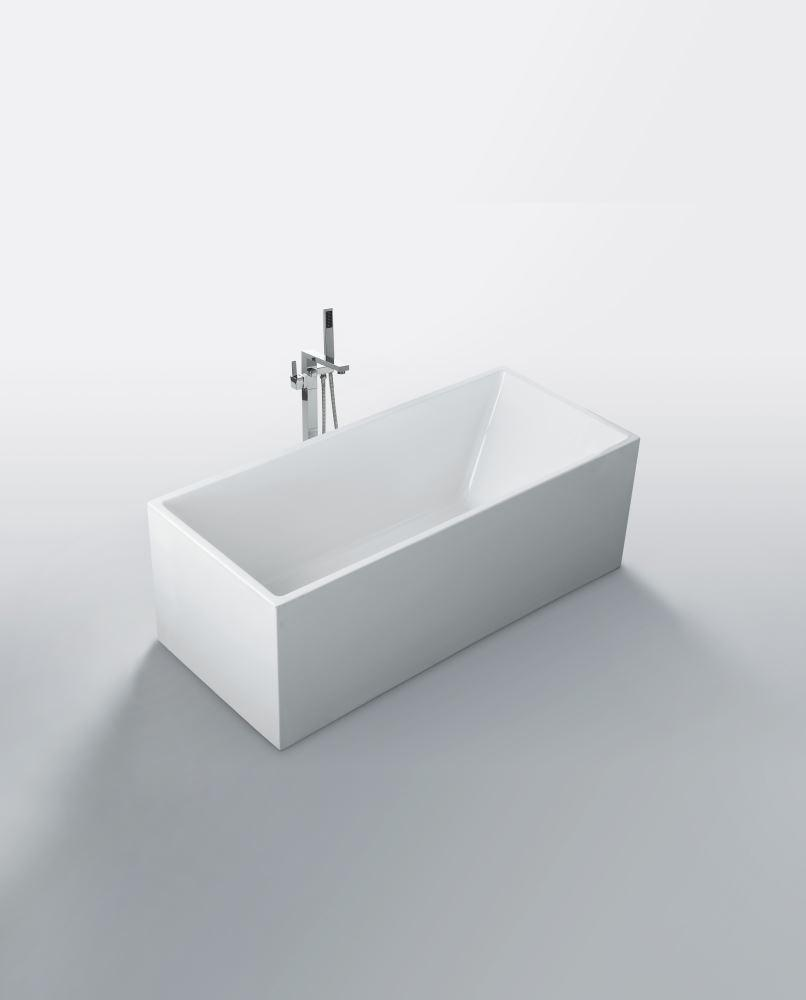LEO WHITE FREE-STANDING BATHTUB 1700W - Bathroom Clearance