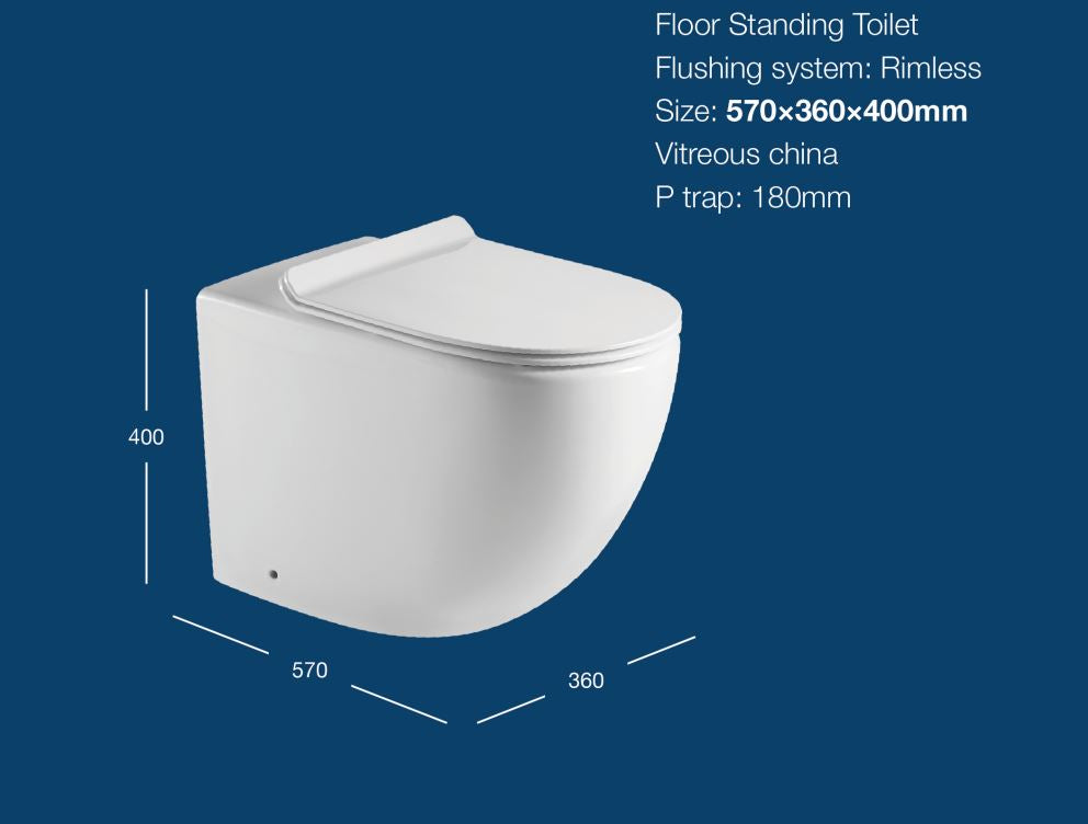 COSIMA FLOORSTANDING PAN - Bathroom Clearance
