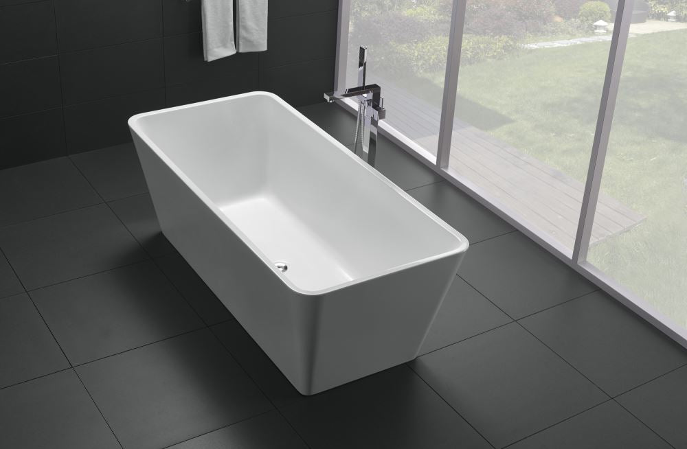 NOVO WHITE FREE-STANDING BATHTUB 1500W - Bathroom Clearance