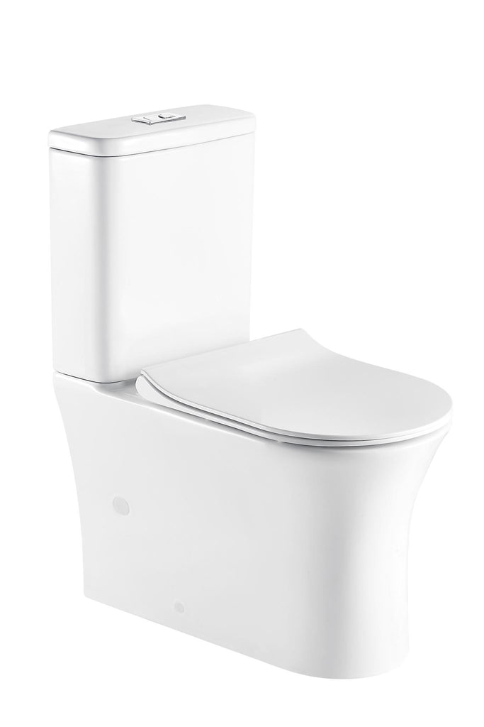 ROSA BACK TO WALL TOILET - RIMLESS - Bathroom Clearance