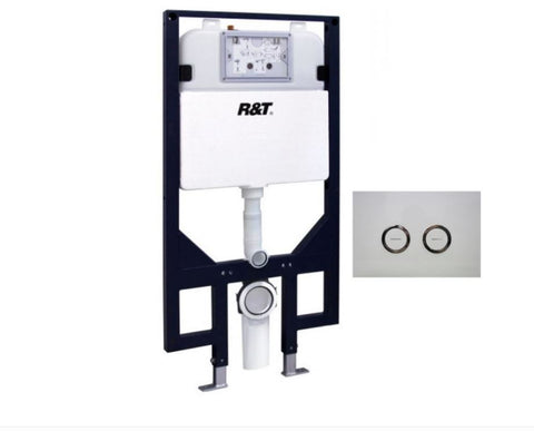R&T IN-WALL CISTERN FULL FRAME - Bathroom Clearance