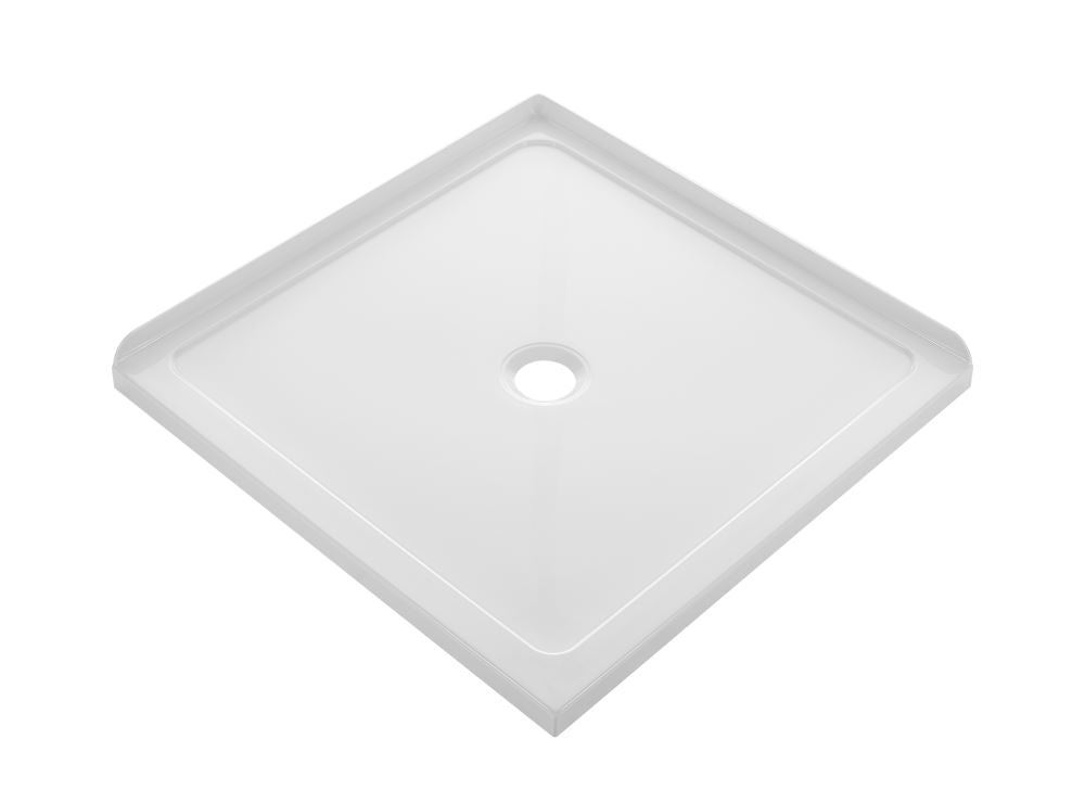 CUBO 900X900 SQUARE TRAY CENTER WASTE - Bathroom Clearance
